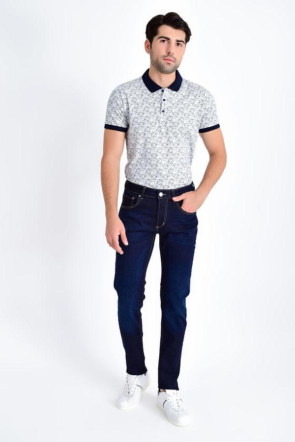 HTML - Lacivert Slim Fit Pantolon (1)