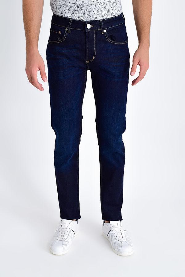 HTML - Lacivert Slim Fit Pantolon