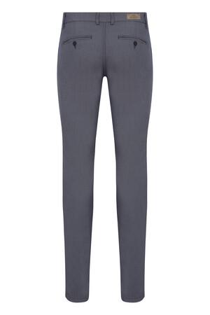 HTML - Lacivert Desenli Slim Fit Spor Pantolon (1)