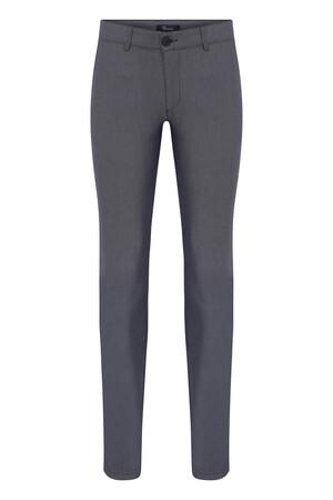 HTML - Lacivert Desenli Slim Fit Spor Pantolon