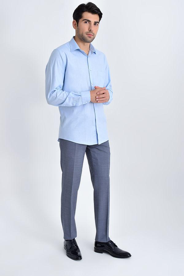 Hatemoğlu - Klasik Mavi Gömlek (1)