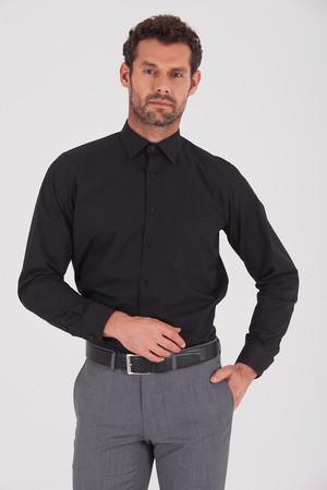 Klasik Siyah Gömlek - Thumbnail