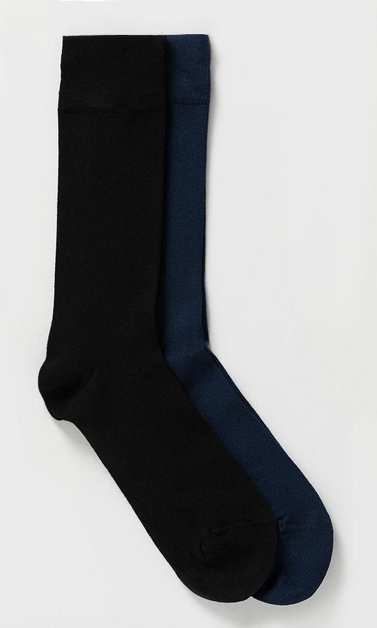 Hatem Saykı - Lacivert 2'li Çorap (1)