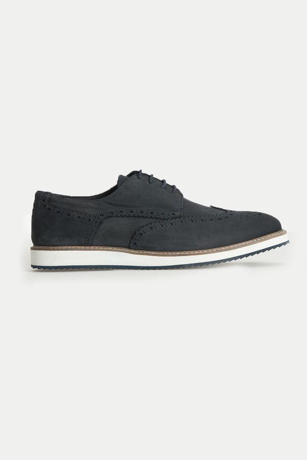 Hatem Saykı - Lacivert Deri Günlük Ayakkabı