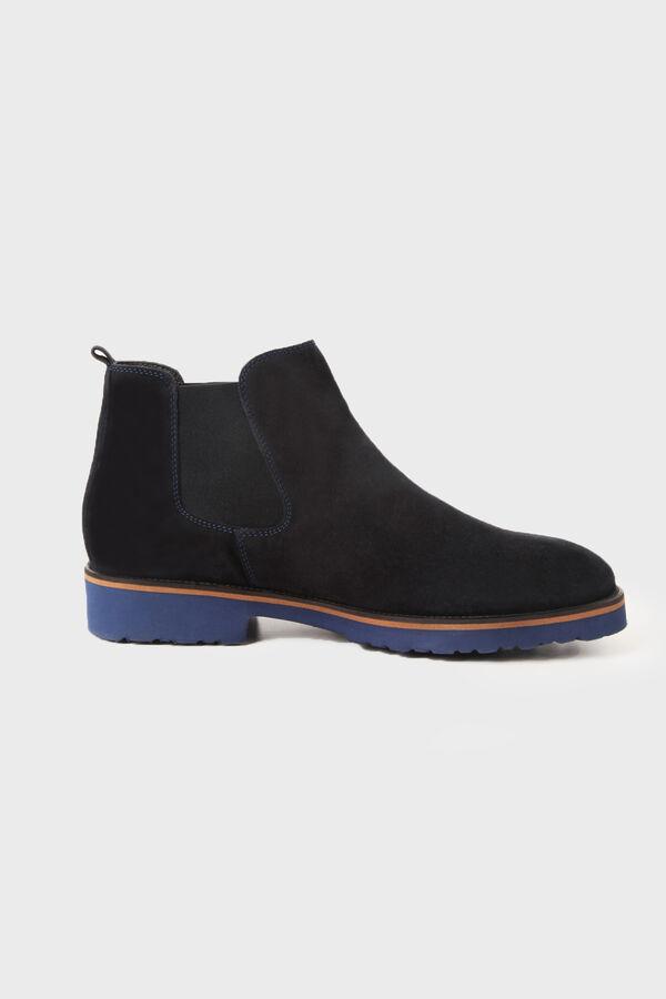 Hatem Saykı - Lacivert Süet Ayakkabı
