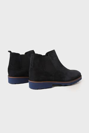 Hatem Saykı - Lacivert Süet Ayakkabı (1)