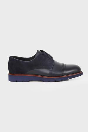 HATEMOĞLU - Lacivert Günlük Oxford Ayakkabı