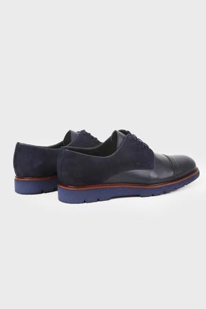 HATEMOĞLU - Lacivert Günlük Oxford Ayakkabı (1)