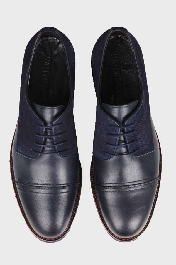 Lacivert Günlük Oxford Ayakkabı