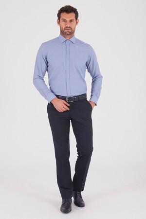 Hatemoğlu - Lacivert Slim Fit Kumaş Pantolon (1)