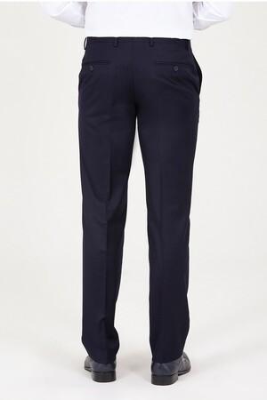 Lacivert Regular Fit Kumaş Pantolon - Thumbnail