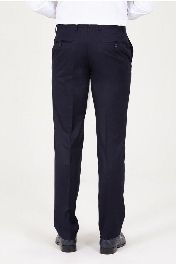 Lacivert Regular Fit Kumaş Pantolon