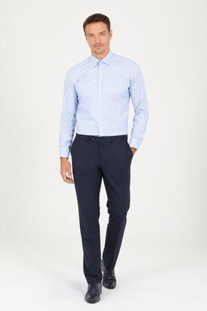 Hatem Saykı - Lacivert Slim Fit Kumaş Pantolon (1)