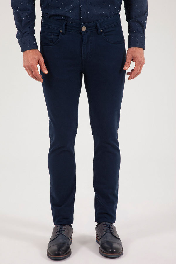HATEM SAYKI - Lacivert Slim Fit Pantolon