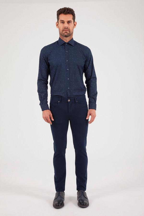 HATEM SAYKI - Lacivert Slim Fit Pantolon (1)