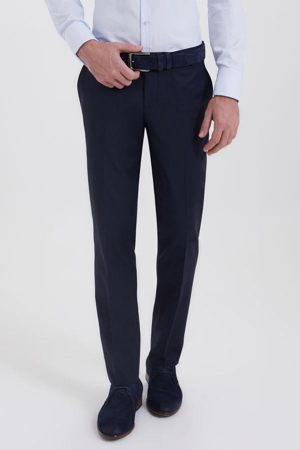 HATEMOĞLU - Lacivert Slim Fit Pantolon
