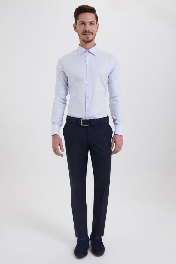 HATEMOĞLU - Lacivert Slim Fit Pantolon (1)