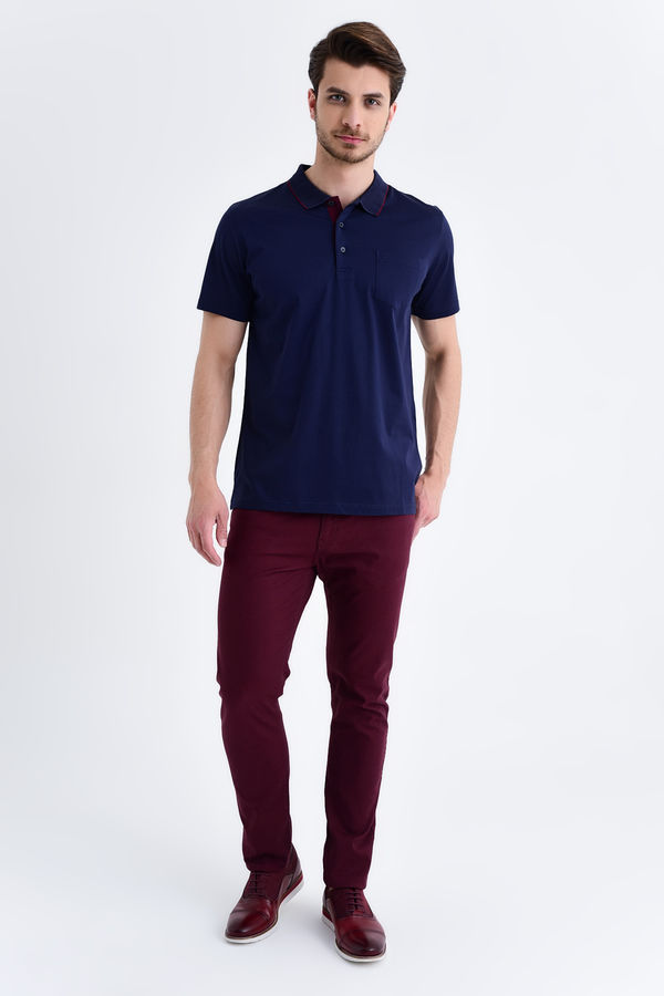 HATEMOĞLU - Lacivert - Regular T-shirt (1)
