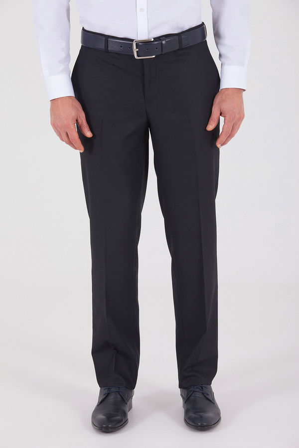 HATEMOĞLU - Lacivert Desenli Dinamik Pantolon