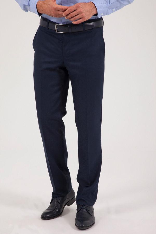 HATEMOĞLU - Lacivert Desenli Klasik Pantolon