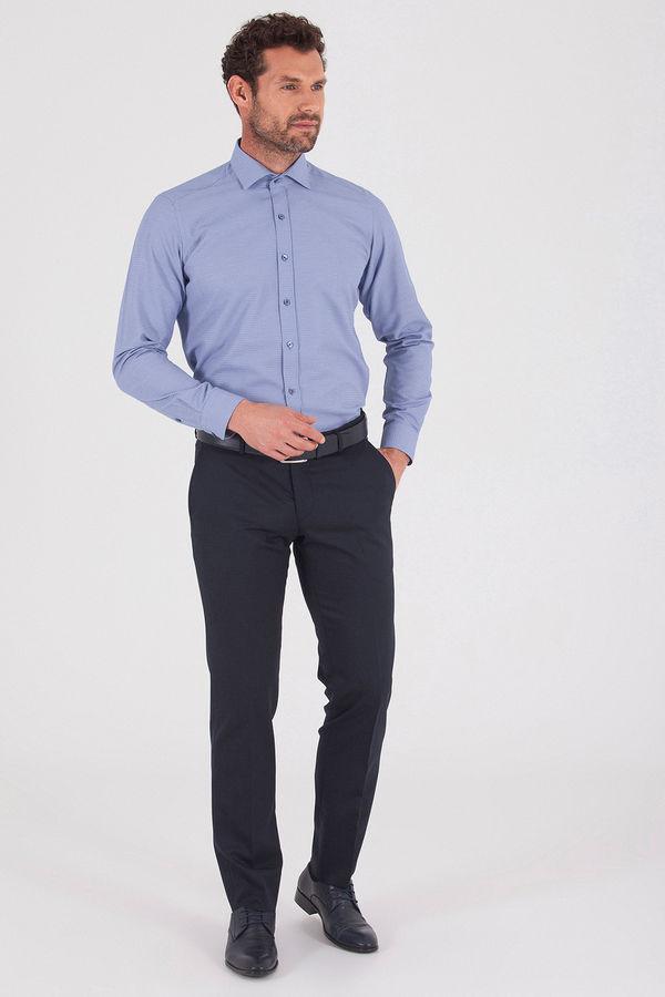 Hatemoğlu - Lacivert Slim Fit Gömlek (1)