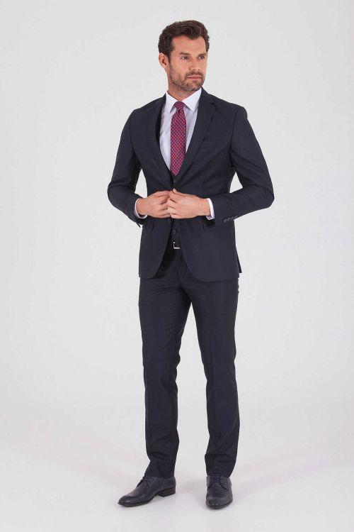 HATEMOĞLU - Lacivert Slim Fit Takım Elbise (1)