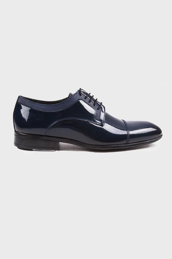 Hatemoğlu - Lacivert Klasik Oxford Ayakkabı