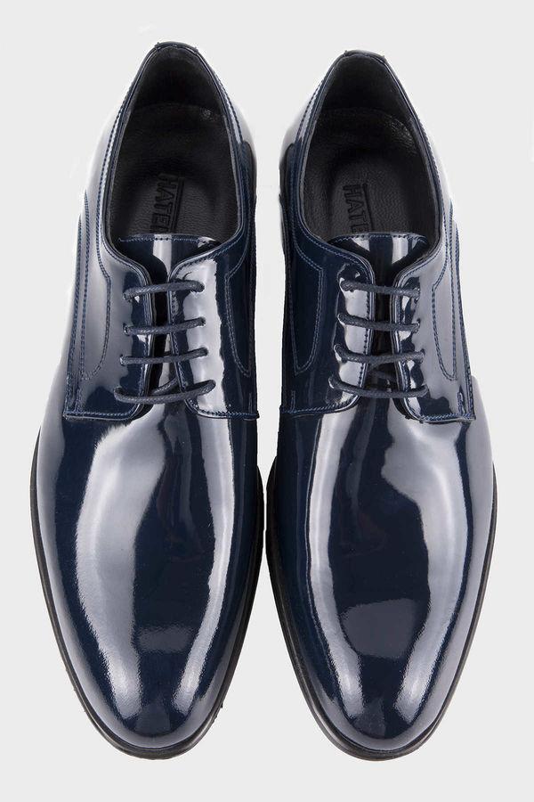 Hatemoğlu - Hakiki Deri Lacivert Klasik Ayakkabı (1)