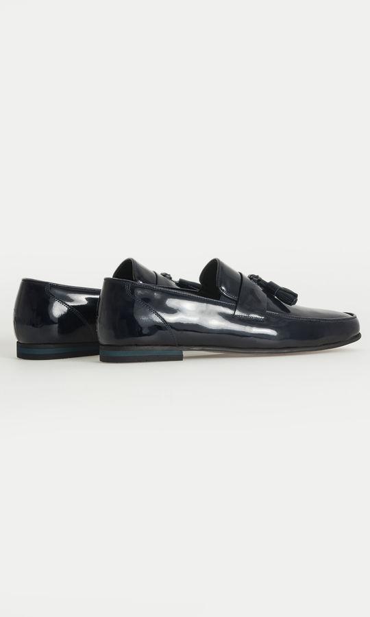 Hatem Saykı - Lacivert Klasik Püsküllü Loafer Ayakkabı (1)