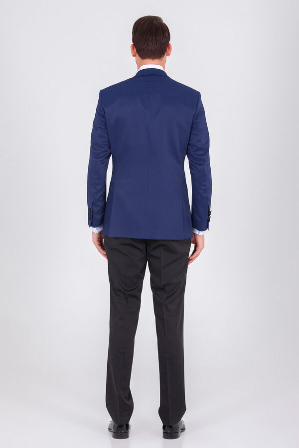 Lacivert Slim Fit Damatlık