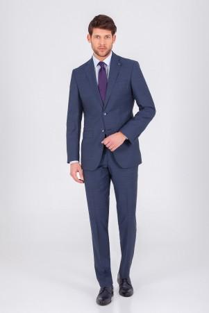 Hatem Saykı - Lacivert Slim Fit Takım Elbise