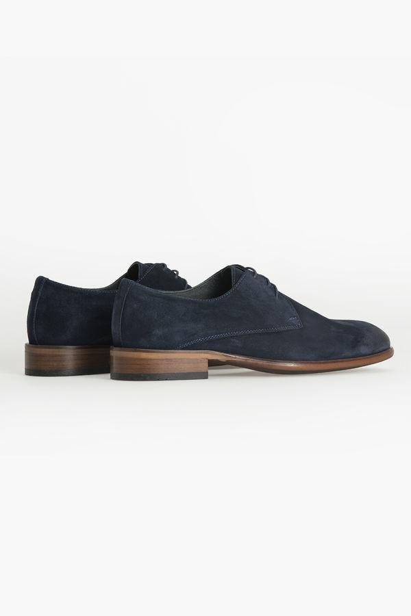 Hatem Saykı - Lacivert Klasik Süet Ayakkabı (1)