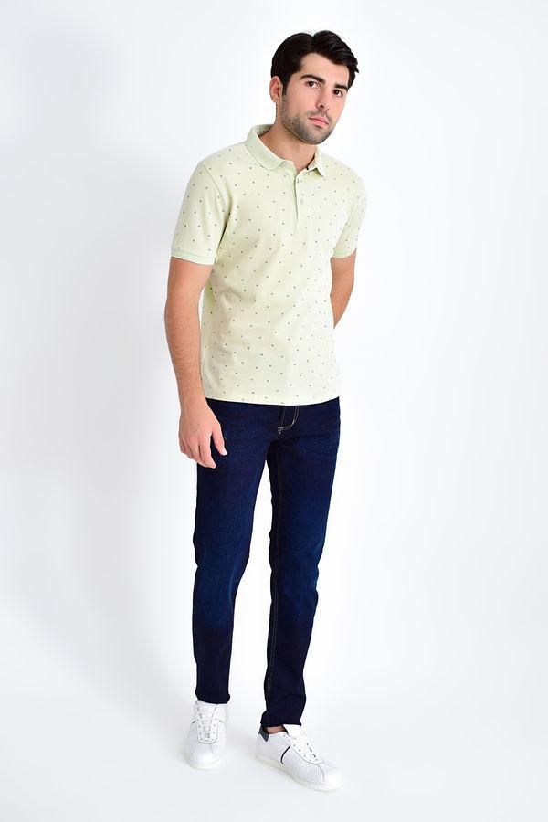HATEMOĞLU - Limon - Baskılı Regular T-shirt (1)