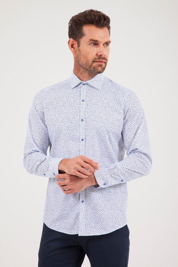 Hatemoğlu - Maviaskılı Regular Gömlek