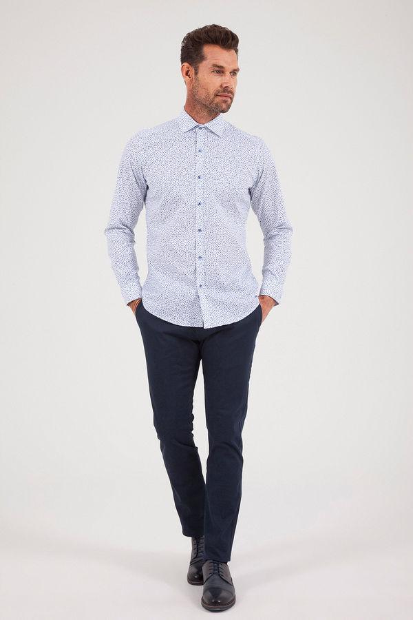 Hatemoğlu - Maviaskılı Regular Gömlek (1)