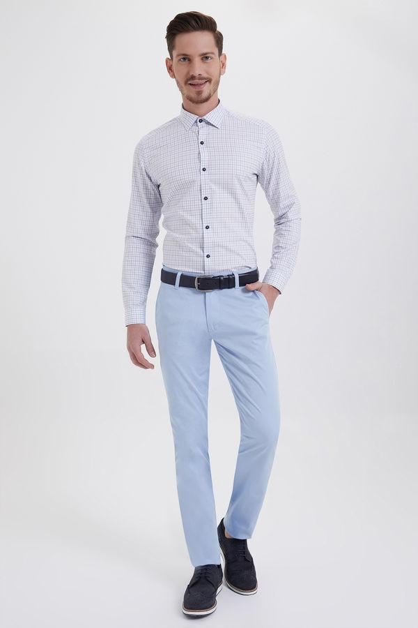 HATEMOĞLU - Mavi Regular Pantolon (1)