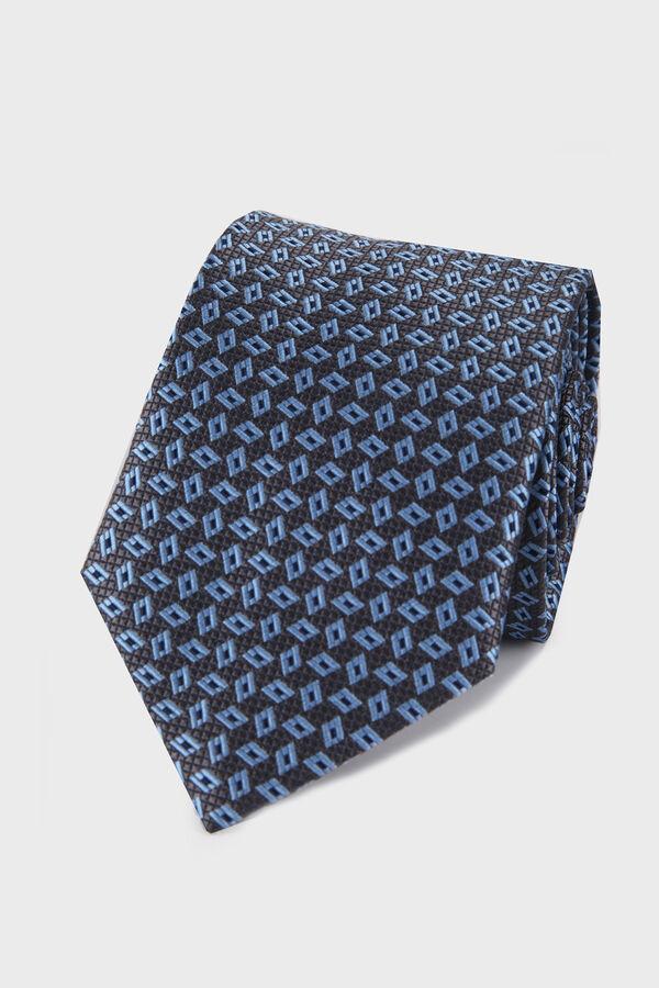 Hatemoğlu - Mavi Desenli Kravat