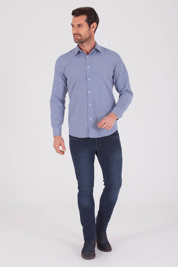 Hatemoğlu - Mavi Regular Gömlek (1)