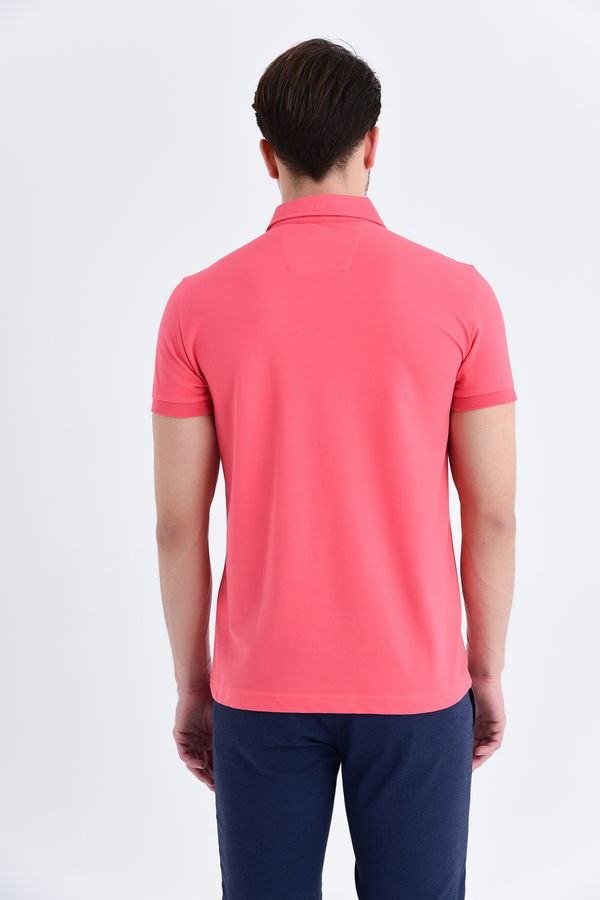 Mercan Baskılı Regular T-shirt