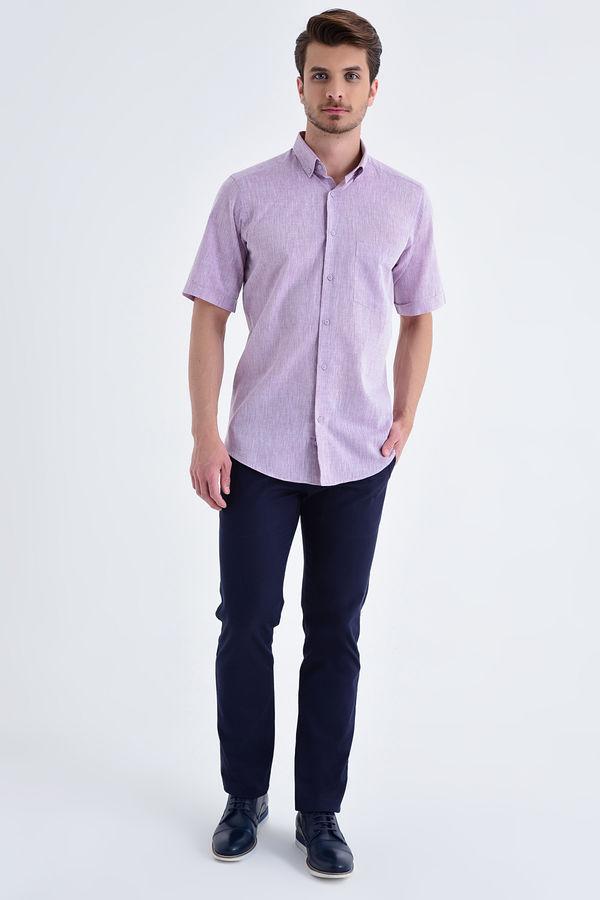 HATEMOĞLU - Pembe Regular Gömlek (1)