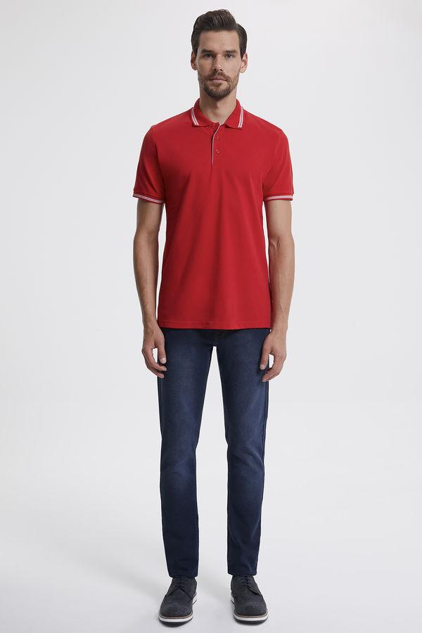 Hatemoğlu - Polo Yaka Kırmızı T-shirt (1)