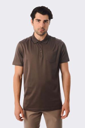 Hatemoğlu - Vizon Polo Yaka Basic Tişört