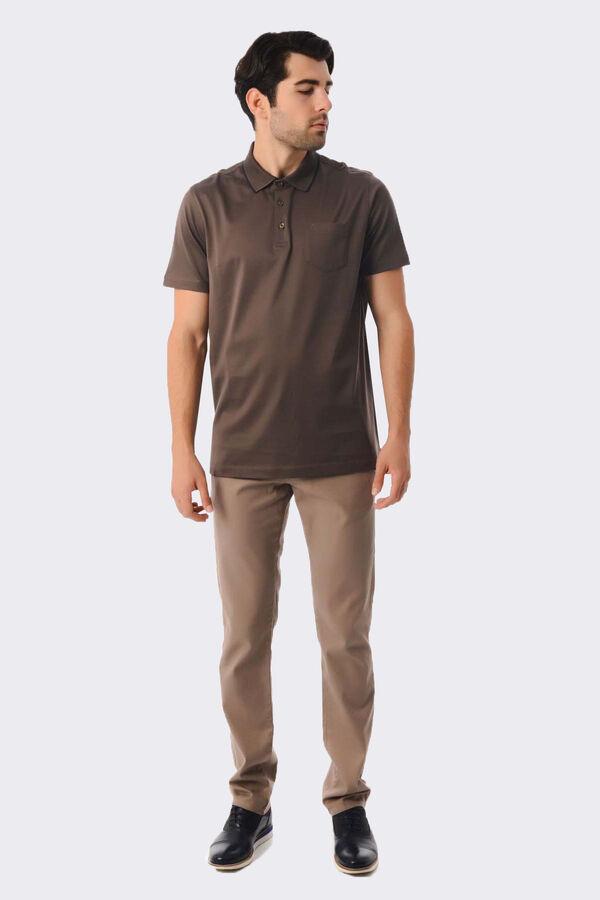 Hatemoğlu - Vizon Polo Yaka Basic Tişört (1)