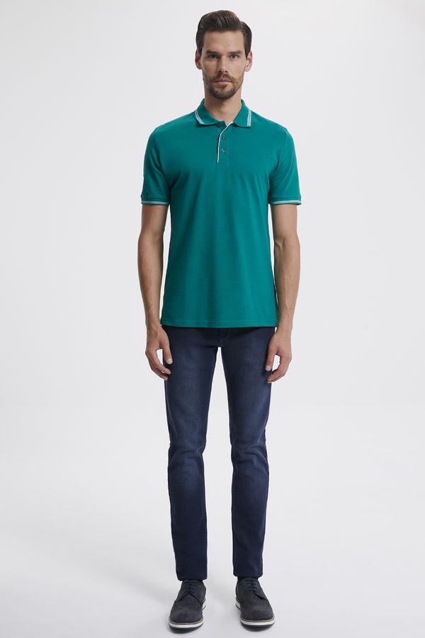 Hatemoğlu - Polo Yaka Yeşil T-shirt (1)