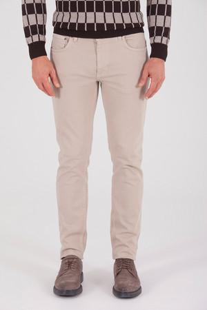 Hatem Saykı - Bej Regular Fit Spor Pantolon