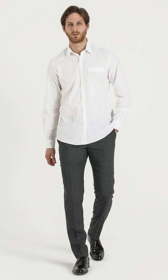 Hatemoğlu - Regular Beyaz Gömlek (1)