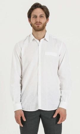 Hatemoğlu - Regular Beyaz Gömlek
