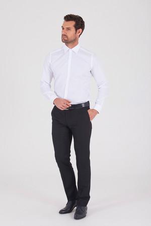 Hatem Saykı - Regular Beyaz Gömlek (1)