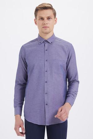 Hatemoğlu - Regular indigo Gömlek