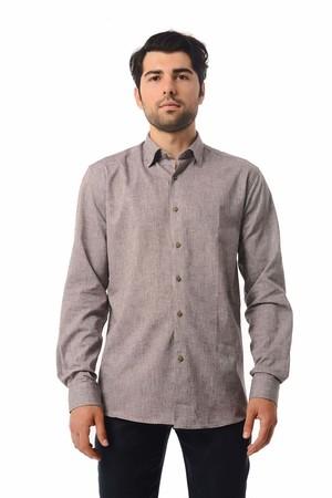 Hatemoğlu - Regular Kahverengi Gömlek